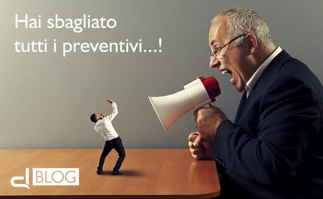 Come ridurre gli errori nella fase di preventivazione