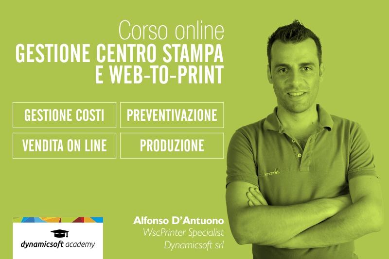 Corso Web Live e On Demad per la gestione del centro stampa e Web to print