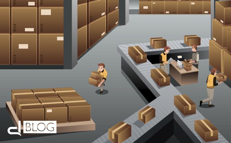I vantaggi di gestione del magazzino di un centro stampa
