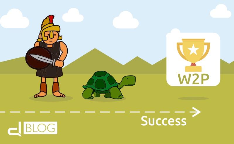 Web to print: la tartaruga batte Achille perchè conosce la strada