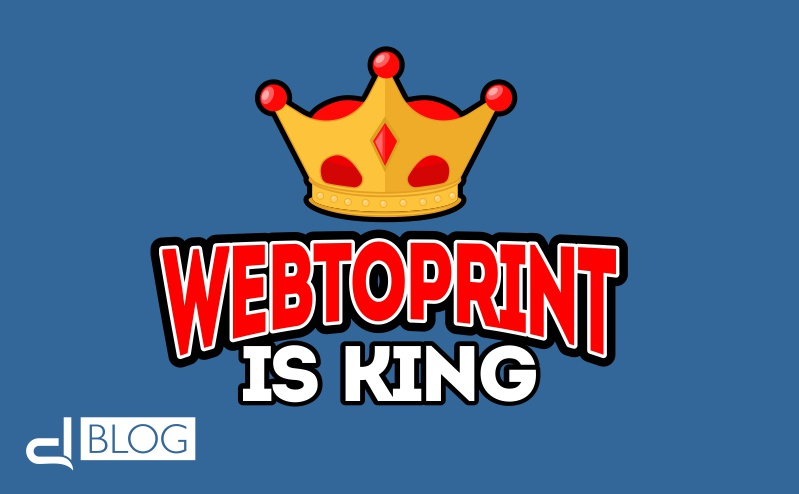 Content is the king. Anche nel Web to print