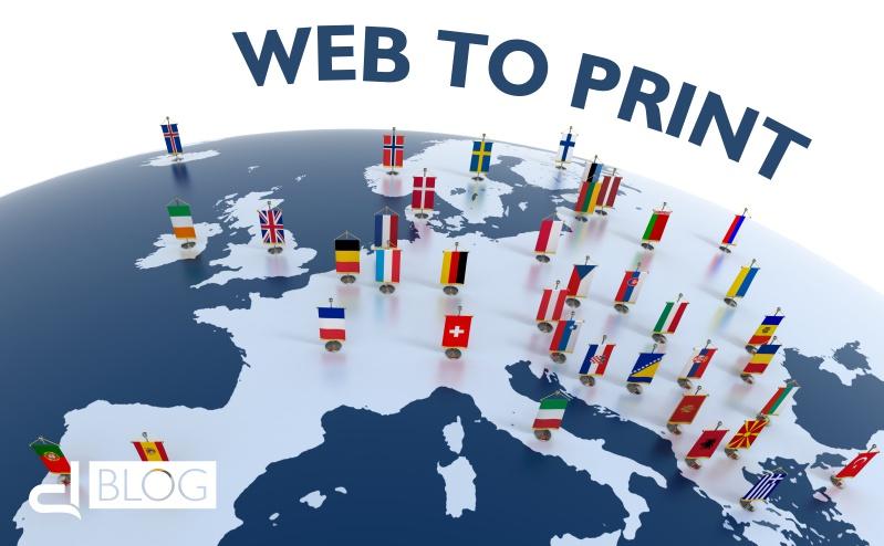 Web to print: il mercato europeo