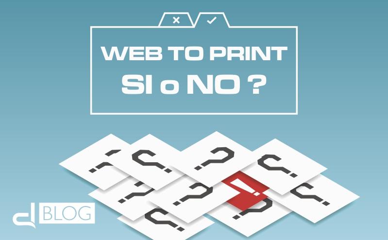 Progetto Web to print: le domande in fase di analisi