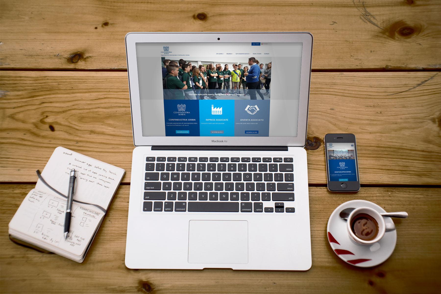 Online il nuovo sito di Confindustria Serbia