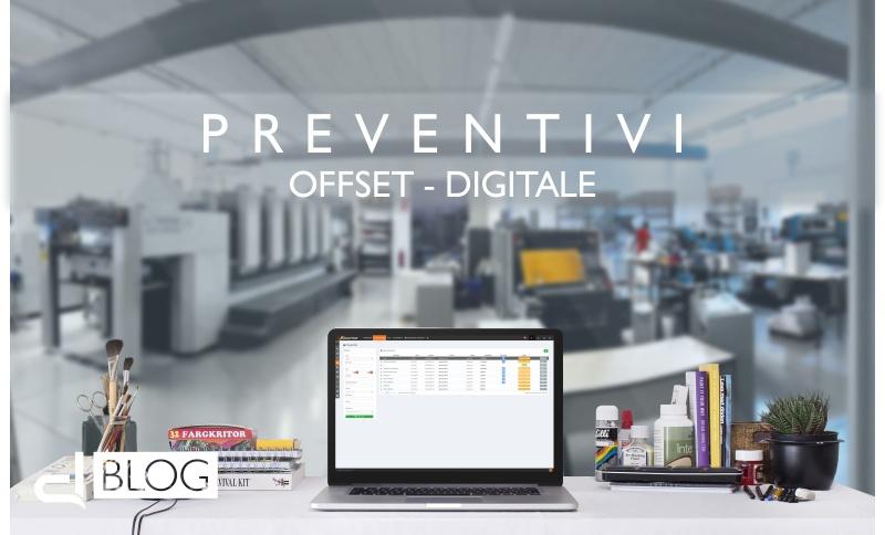 Come creare preventivi per stampa digitale ed offset