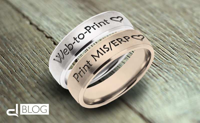 Web-to-print e Print MIS/ERP: questo matrimonio non s'ha da fare?